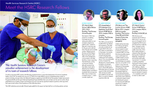 Meet the HSRC Fellows